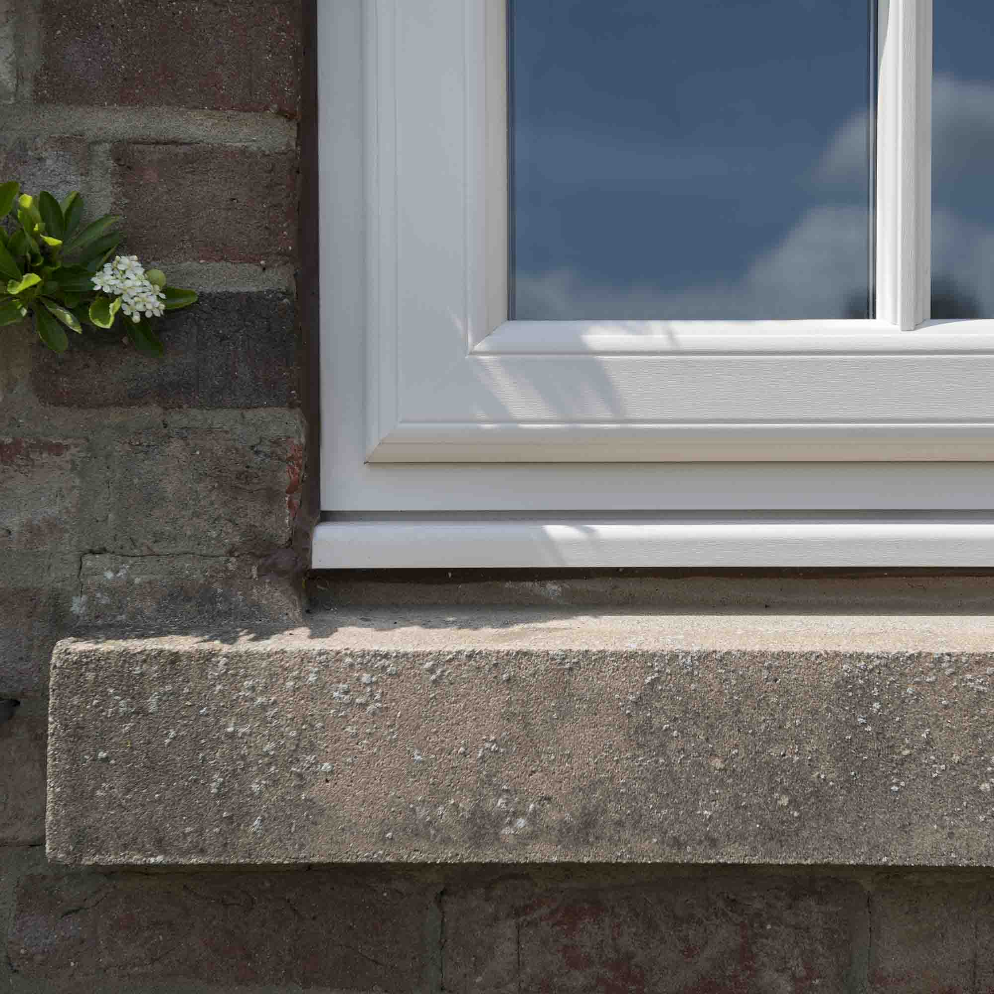 close up casement window